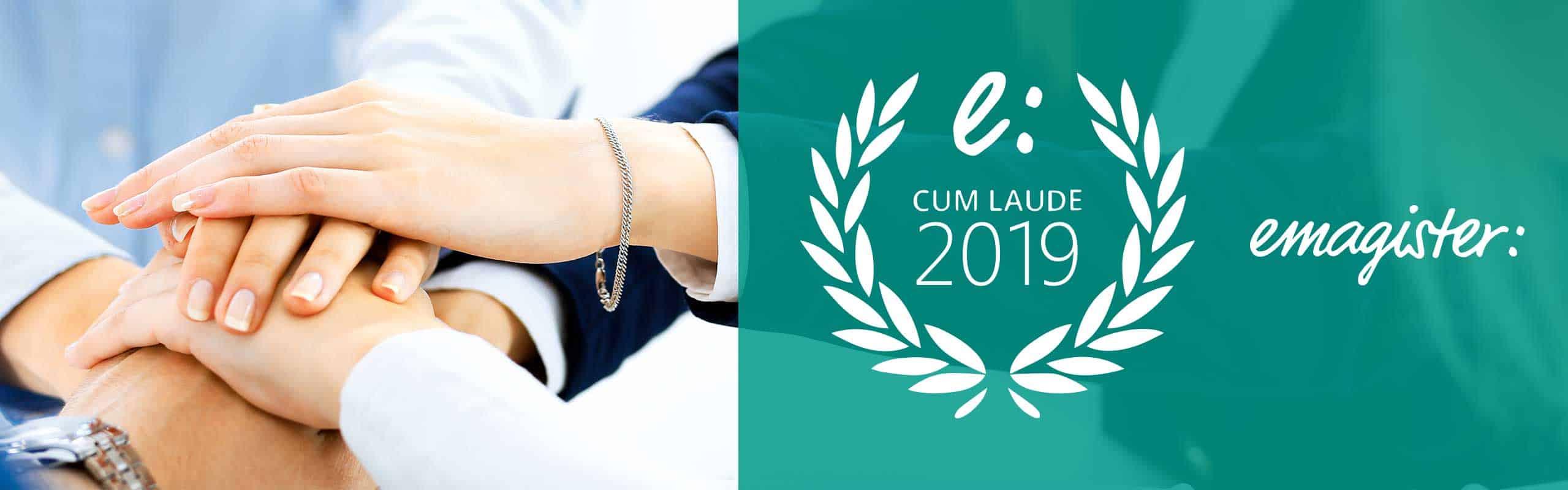 Ieeducación ha sido premiada con el sello cumplido laude 2019
